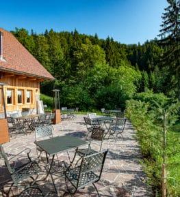 ristorante borgo nomplan ravascletto comeglians spazio esterno
