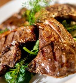ristorante borgo nomplan povolaro comeglians ravascletto costicine di agnello